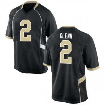 Men's Cameron Glenn Wake Forest Demon Deacons Nike Replica Black Football College Jersey