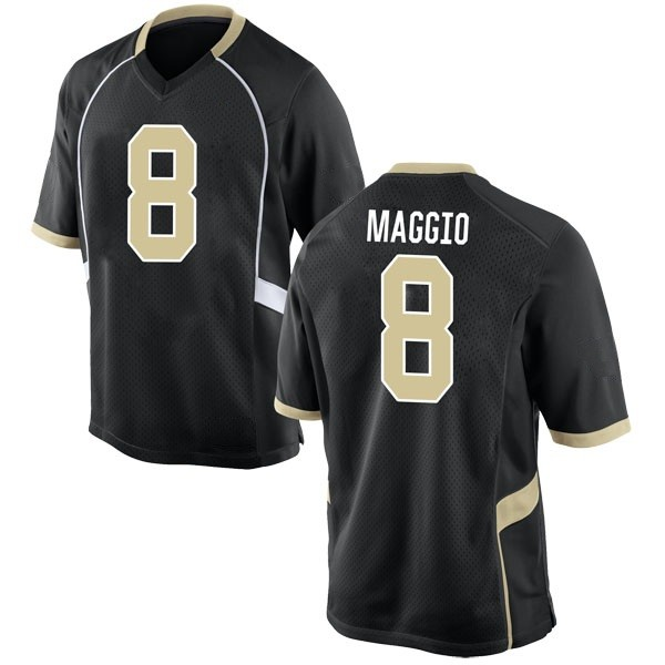 Men's Dom Maggio Wake Forest Demon Deacons Nike Replica Black Football College Jersey