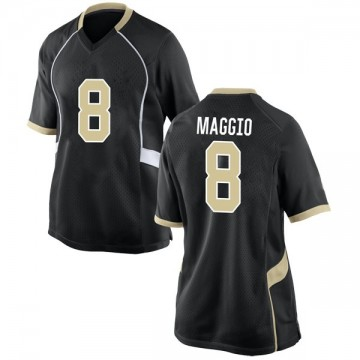Women's Dom Maggio Wake Forest Demon Deacons Nike Game Black Football College Jersey