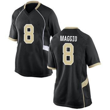 Women's Dom Maggio Wake Forest Demon Deacons Nike Replica Black Football College Jersey