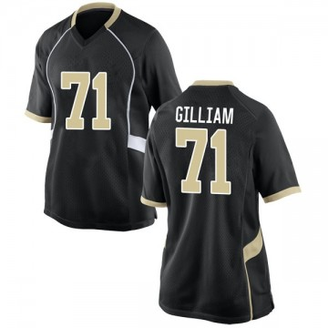 Women's Nathan Gilliam Wake Forest Demon Deacons Nike Replica Black Football College Jersey