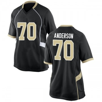 Women's Ryan Anderson Wake Forest Demon Deacons Nike Replica Black Football College Jersey