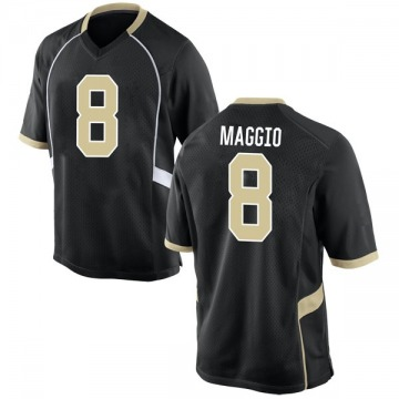 Youth Dom Maggio Wake Forest Demon Deacons Nike Game Black Football College Jersey