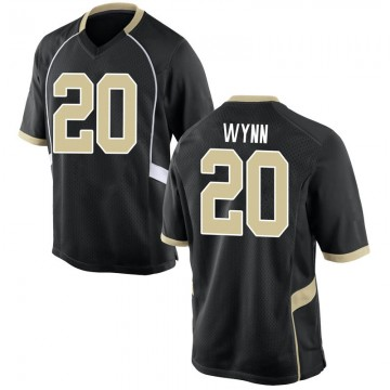 Youth Michael Wynn Wake Forest Demon Deacons Nike Game Black Football College Jersey