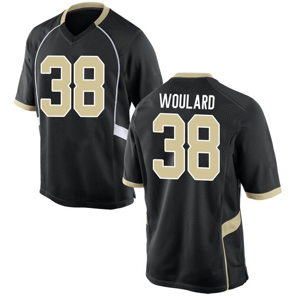 Youth Peyton Woulard Wake Forest Demon Deacons Nike Game Black Football College Jersey